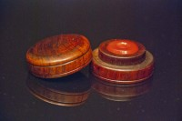 Cherry Wood Oil Cup