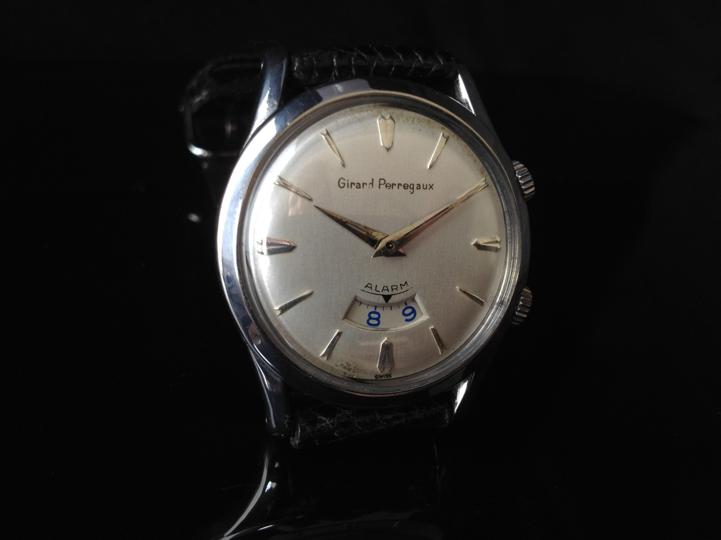 7fb623508de Girard-Perregaux GP Mechanical Wrist Alarm