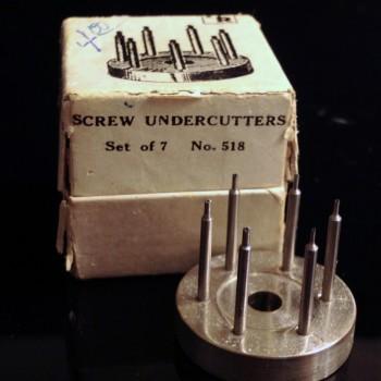 H&R Screw Undercutter 094