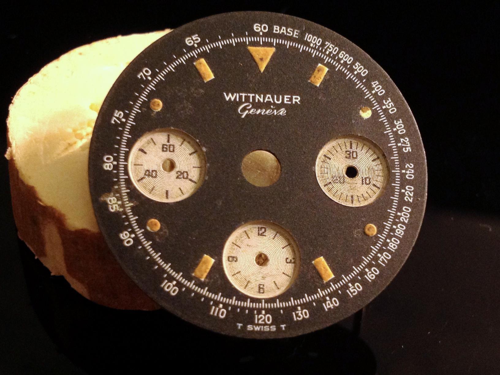Wittnauer Valjoux 72 Black Dial 074