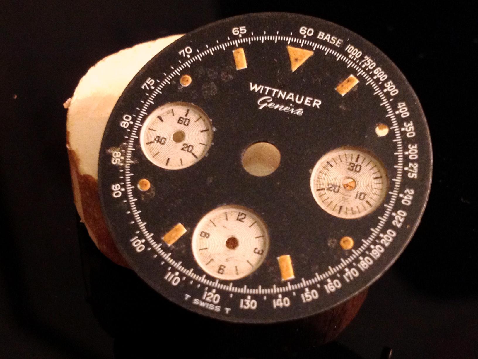 Wittnauer Valjoux 72 Black Dial 075
