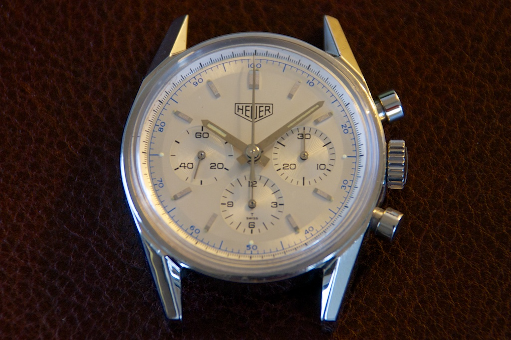 Heuer Re-edition 538