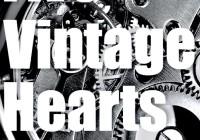 Five Vintage Hearts