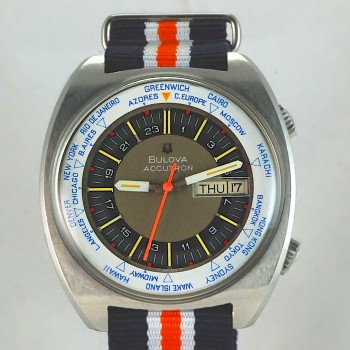 Accutron WorldTime Diver 71