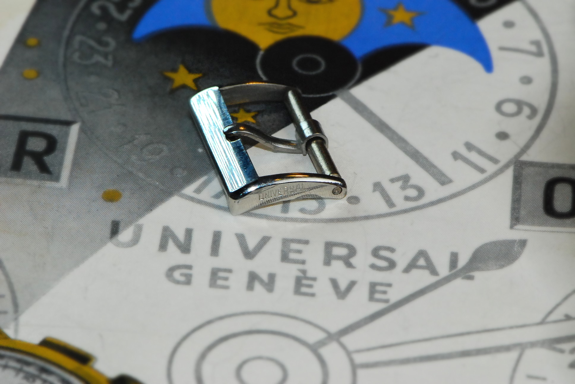 Universal SS Buckle 16