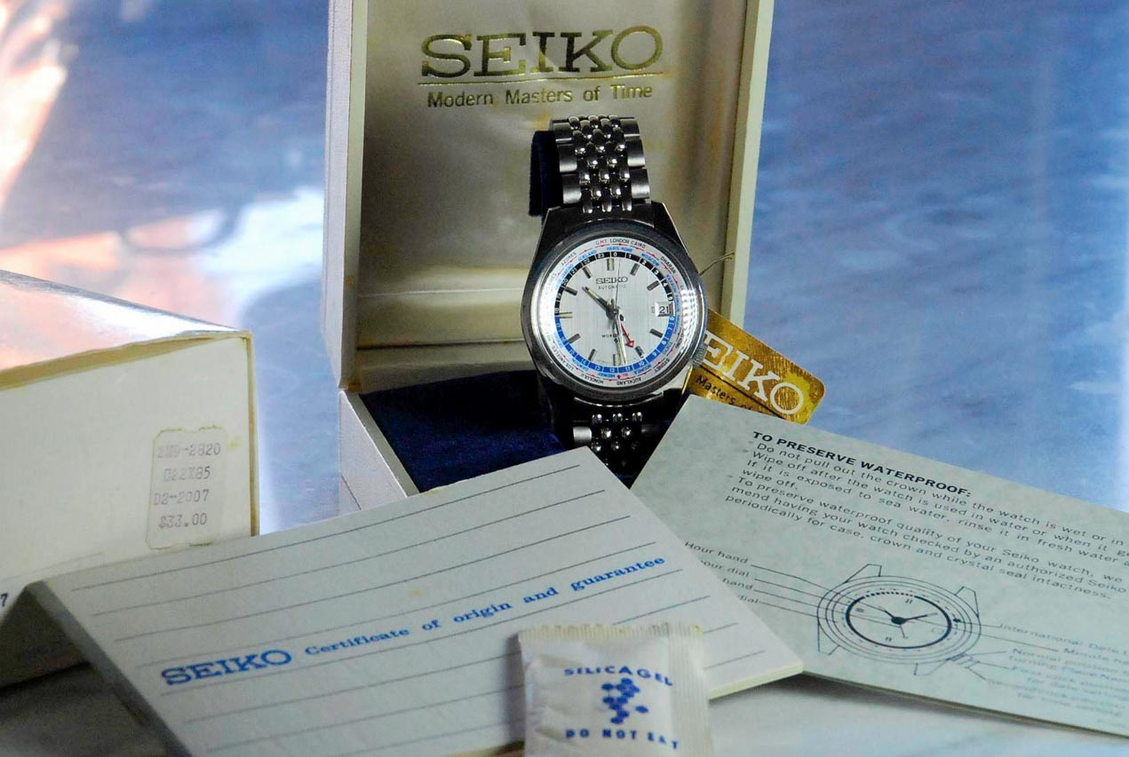Seiko World Time NOS1