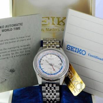 Seiko World Time NOS8
