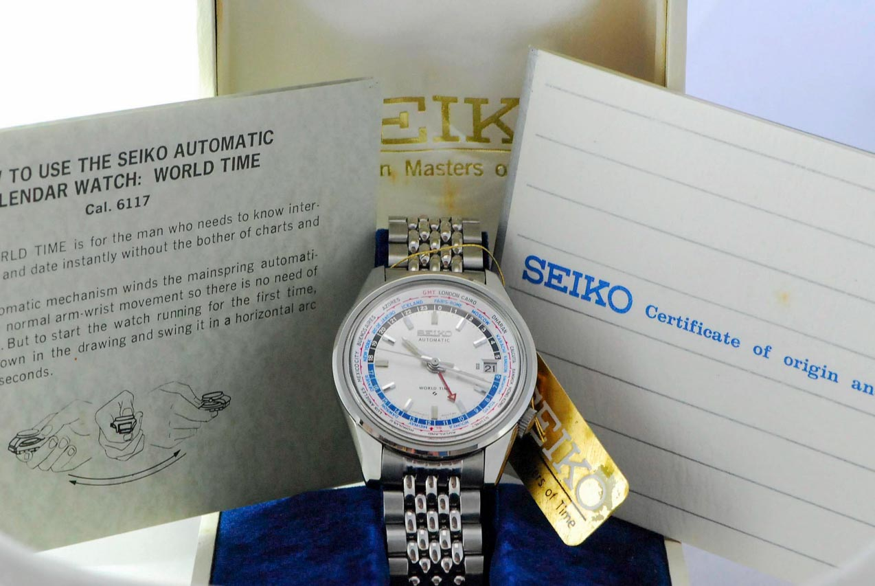 Seiko World Time NOS8