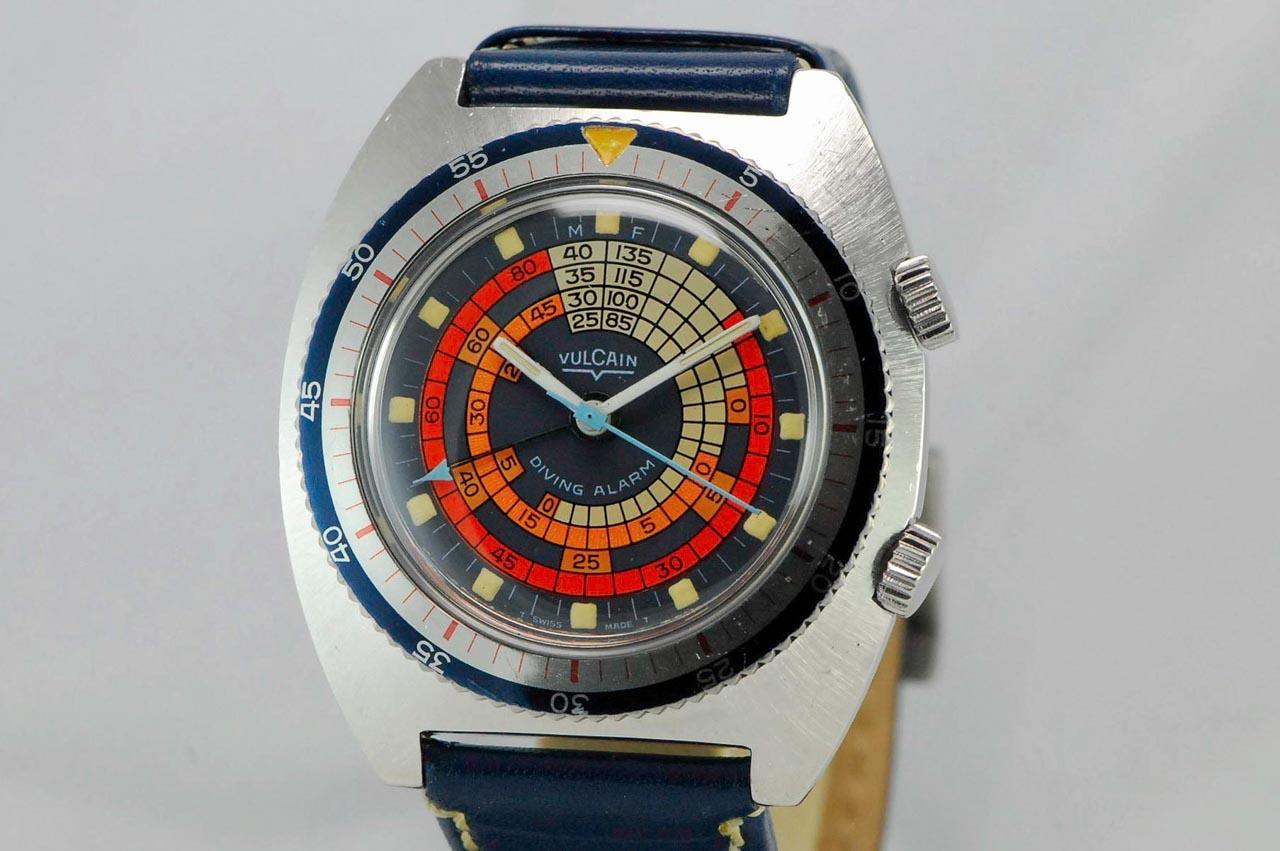 Vulcain Diver Alarm4